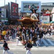 岸和田だんじり祭り やりまわし