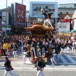 岸和田だんじり祭りのやりまわしはどこで見る?観覧席の画像も