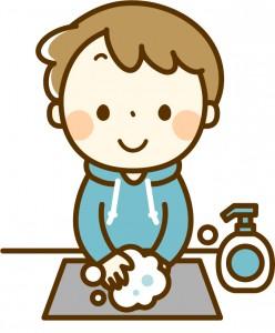 インフルエンザ 対策 手洗い