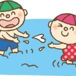 子供の水遊びの熱中症対策はコレをしよう!もし熱中症になったら?