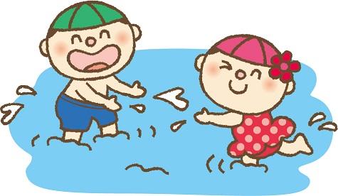 子供 水遊び 熱中症対策