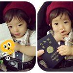 赤ちゃんのパスポート写真を自宅で!スマホで撮影♪コンビニで印刷