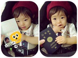 赤ちゃん パスポート 写真