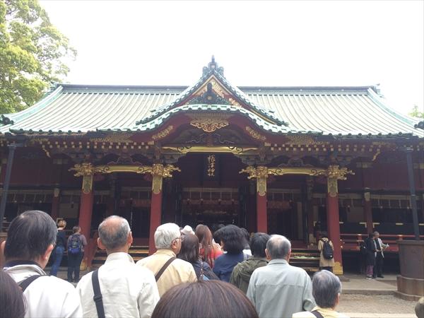 根津神社 つつじ祭り 混雑